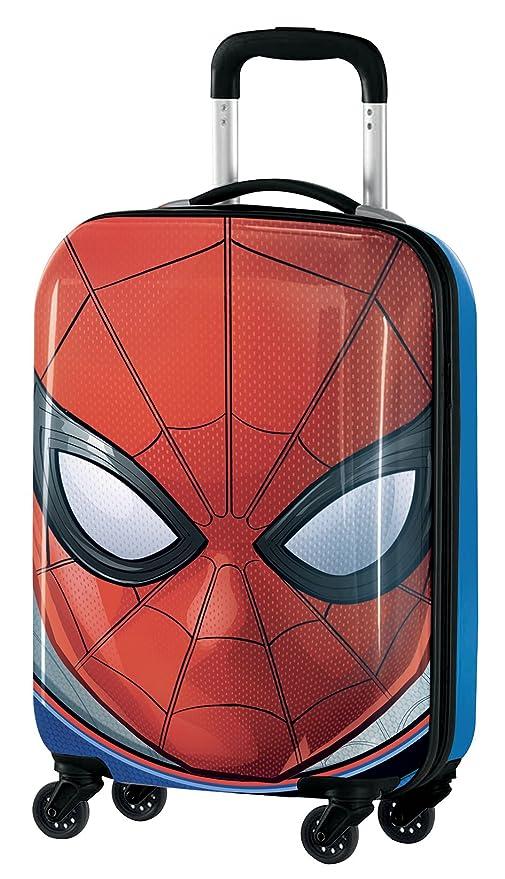 795b9c644 Marvel Spiderman M97703 Equipaje Infantil, 55 cm, 33 Litros, Rojo ...
