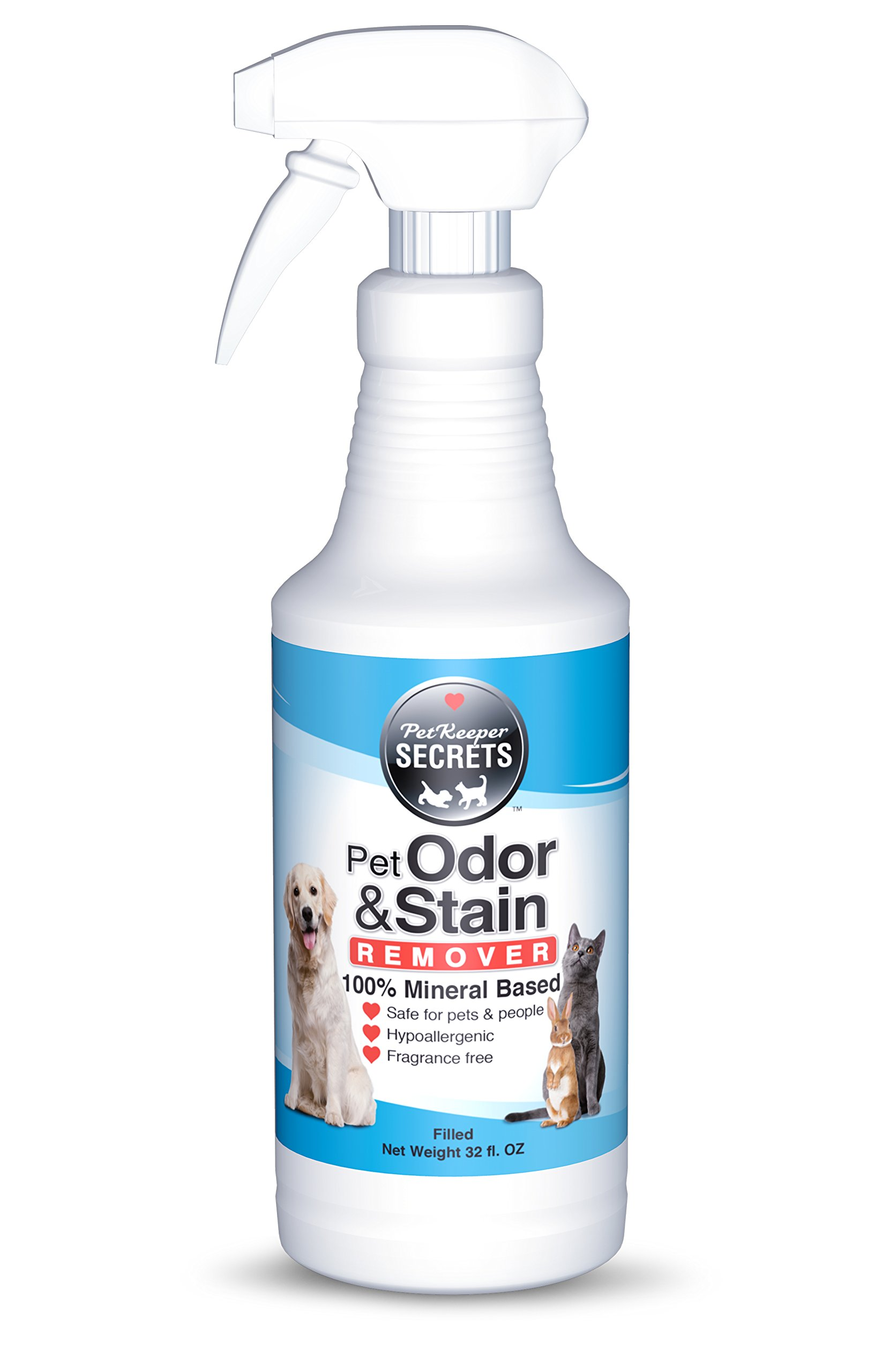 Pet odor and stain remover 32oz bottle
