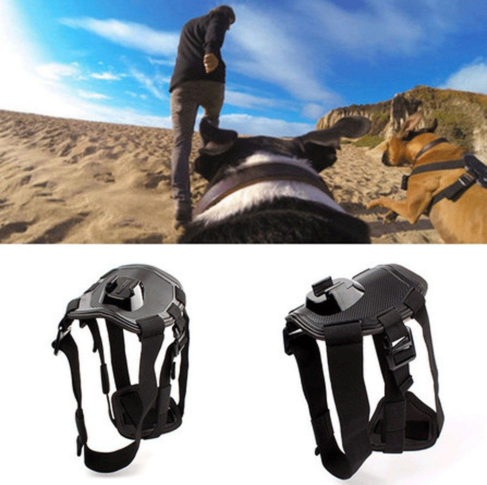 Dog Pet Harness Chest Back Mount Strap Belt For GoPro 2 3 4 Camera Acccessories