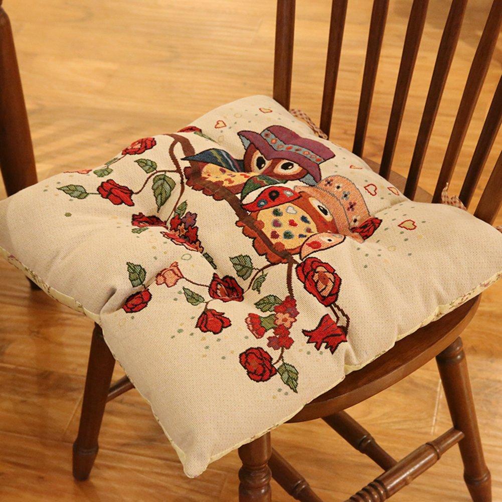 Cojín de la silla/todo algodón el algodón silla/todo four seasons cojín-D 45x45cm(18x18inch) 5f706c