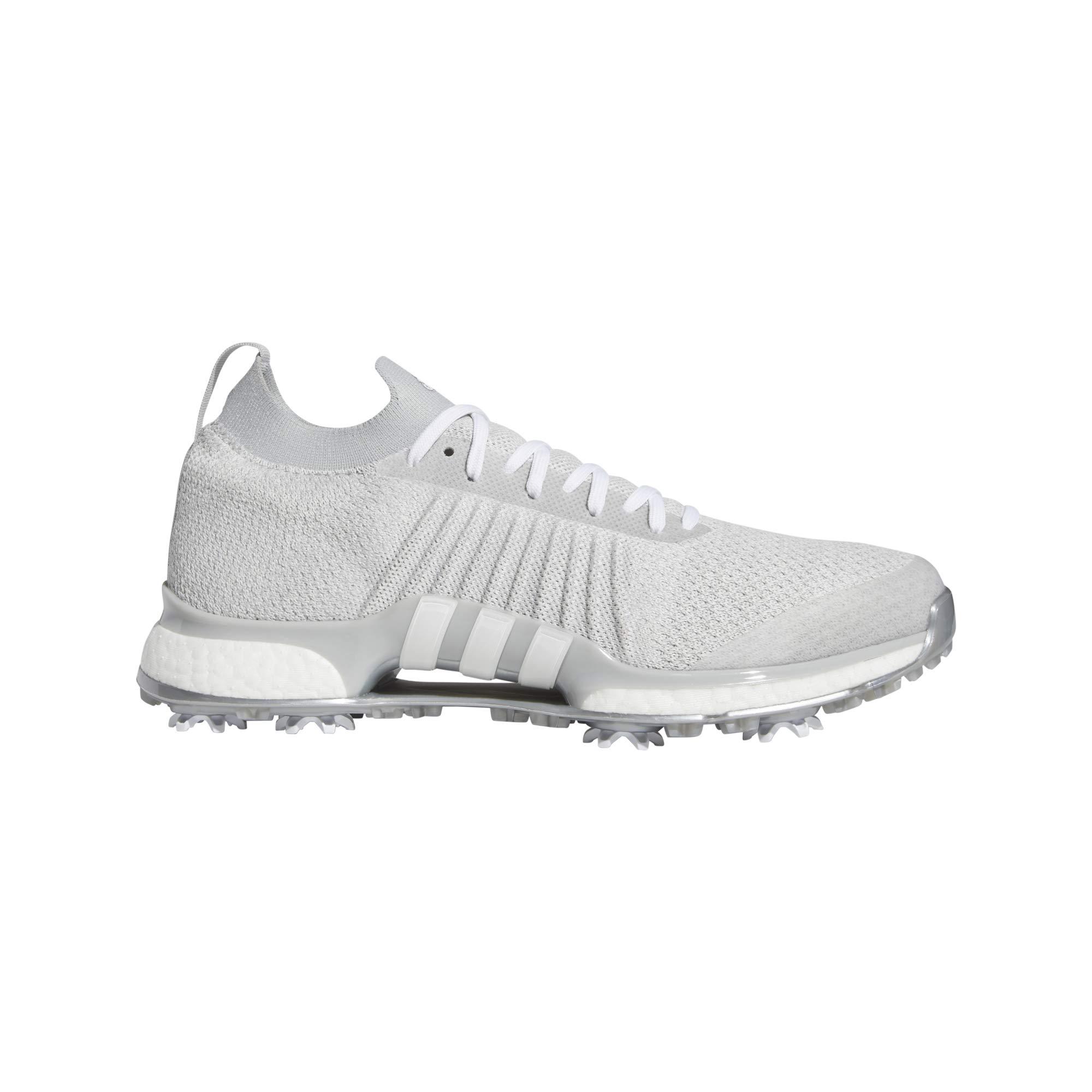adidas Men's TOUR360 XT Primeknit Golf Shoe, Grey Two/White/Silver Metallic, 10.5 Medium US by adidas