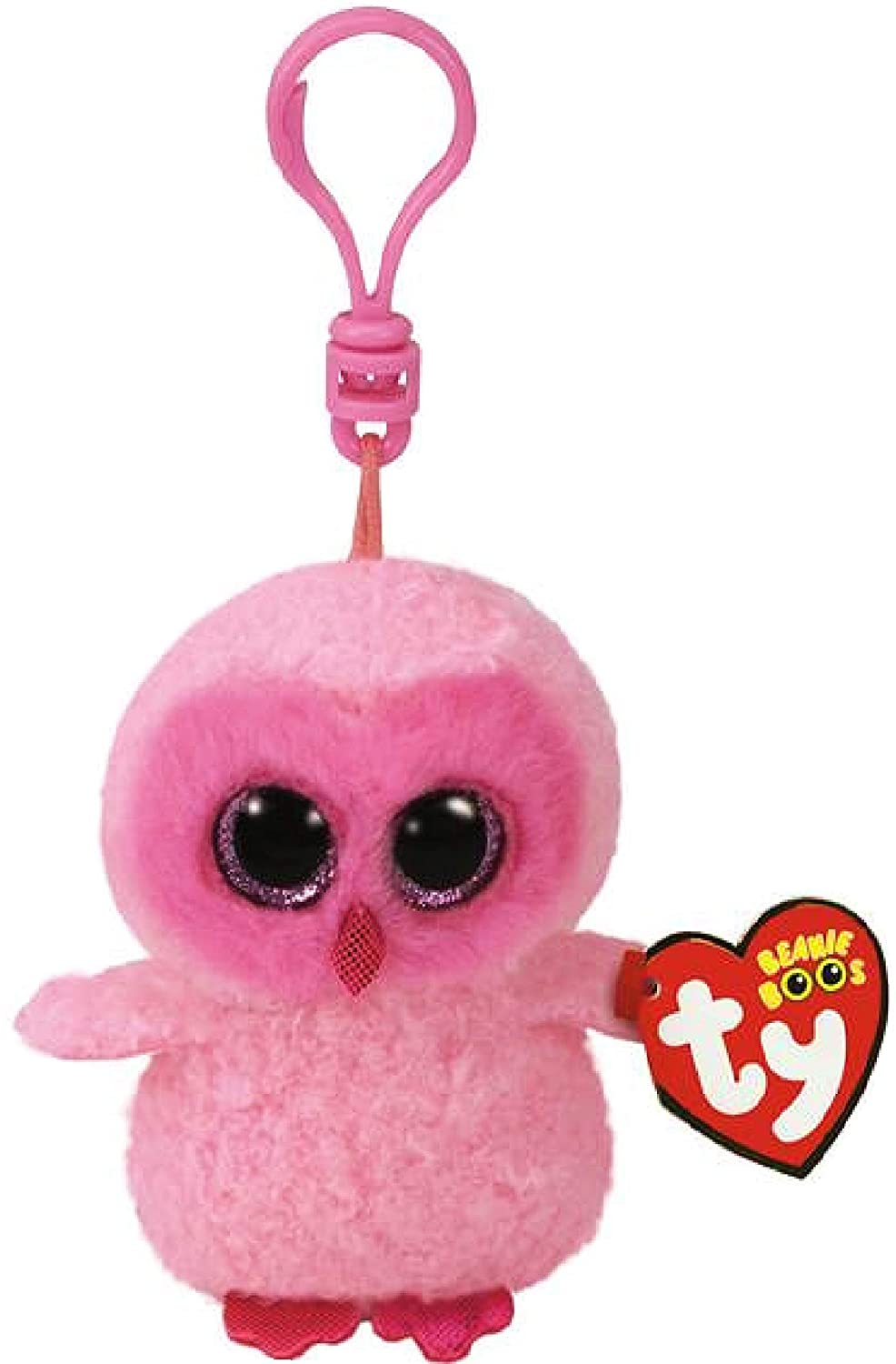Twiggy /& Owlette Gift Set Bundle with Bonus Mattys Toy Stop Storage Bag Owls Yago 3 Ty Beanie Boos Clips 4 Pack Owen