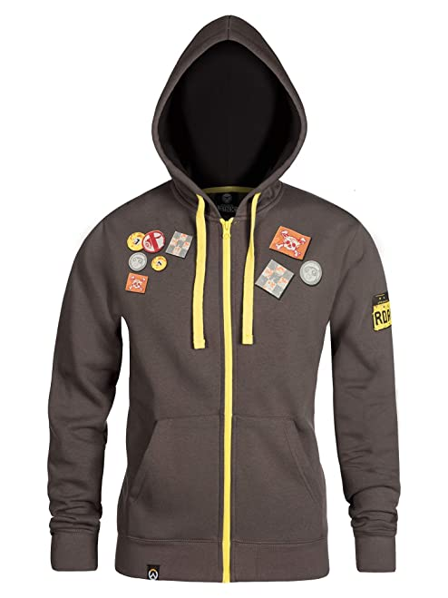 JINX Overwatch Ultimate Roadhog Zip-Up Hoodie