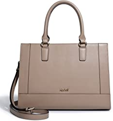 Kadell Womens Large Capacity Matte PU Leather Tote Handbags Purse Shoulder Satchel Bags