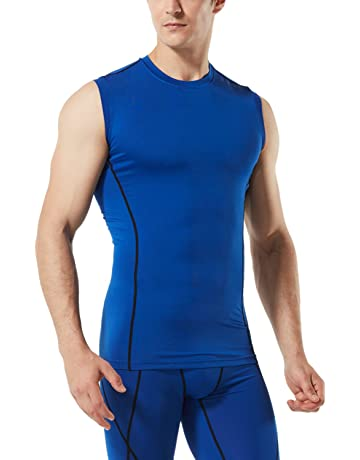 bbbf1f6a518f54 TSLA Men s Muscle Tank Sleeveless Dry Compression Baselayer