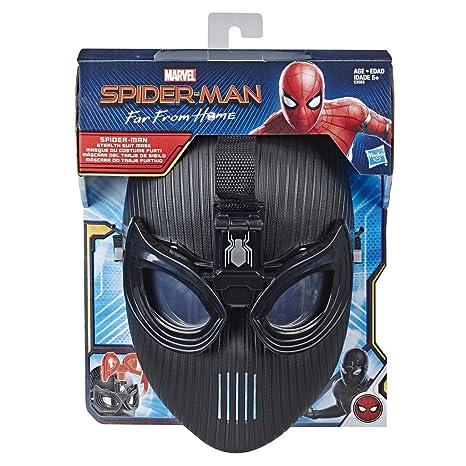 Spider-Man- Máscara del Traje sigiloso (Hasbro E3563EU4)
