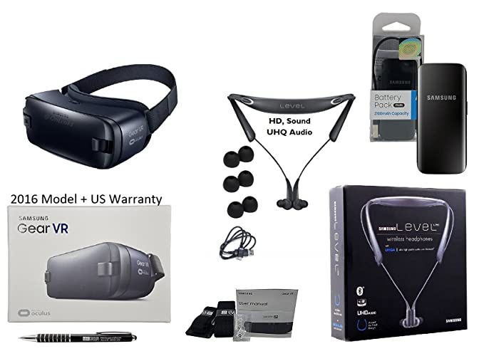 Amazon com: Samsung Gear VR Virtual Reality - 360 3D with