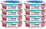 BabyBreeze Diaper Pail Refills Bags for Diaper Genie - 2240 Count