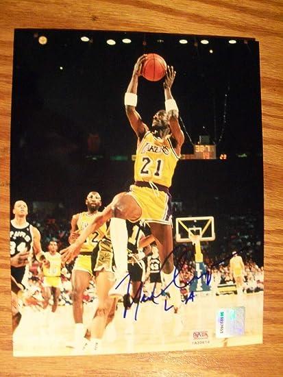 1e27b6634fb Michael Cooper La Lakers Autographed Signed 8x10 Photo PSA/DNA Coa at  Amazon's Sports Collectibles Store