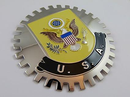 Rejilla Badge USA con escudo de Eagle para el coche Truck ...