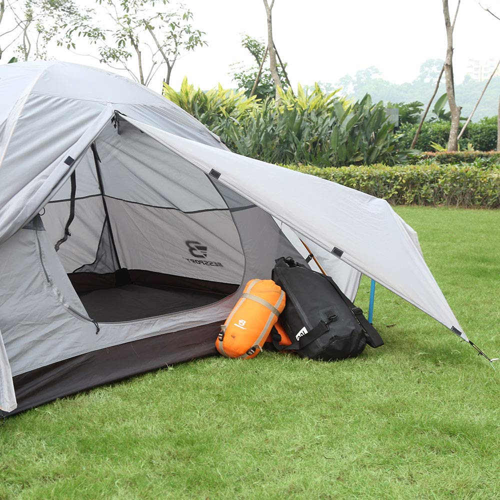 Bessport Camping Tent 1 and 2 Person Lightweight ...
