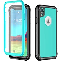 4bcb4768f5038b ATOP iPhone Xr case, Full-Body Protection Rugged Clear Bumper Case with  Built-