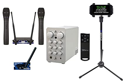 Vocopro Casaman-Wireless Powered Karaoke Mixer/Amplifier w/Bluetooth/USB+2