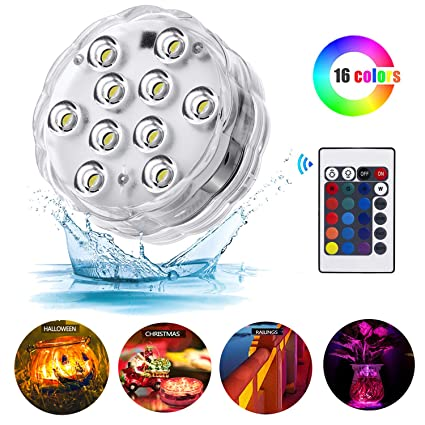 Lights & Lighting Factory Vendor Super Bright Dual Submersible Led Party Lights~100 Waterproof Lights For Party Decorative Sufficient Supply