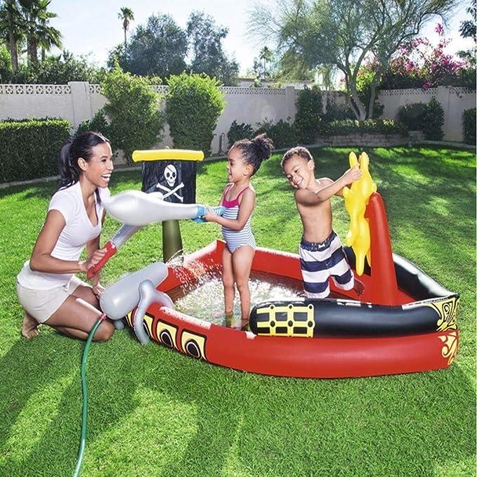 Flotador de piscina, piscina inflable redonda para niños durante 3 ...