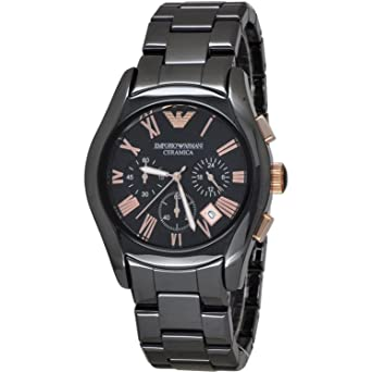 71fa3c44b1fb Image Unavailable. Image not available for. Color  Emporio Armani AR1410  Men s Ceramic Watch