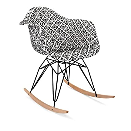 Amazing Amazon Com Cc Home Furnishings 27 Black And White Creativecarmelina Interior Chair Design Creativecarmelinacom