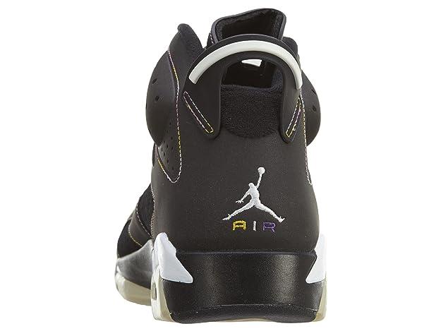 finest selection eec00 0b875 ... clearance amazon jordan nike air 6 retro lakers vi mens basketball shoes  384664 002 basketball 7fc94