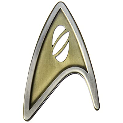 QMx Star Trek Beyond Magnetic Insignia Badge Command: Toys & Games