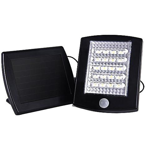 Kinna Solar Powered PIR Motion Sensor Light 20 LED Security Wall Light  Outdoor Waterproof Lamp For