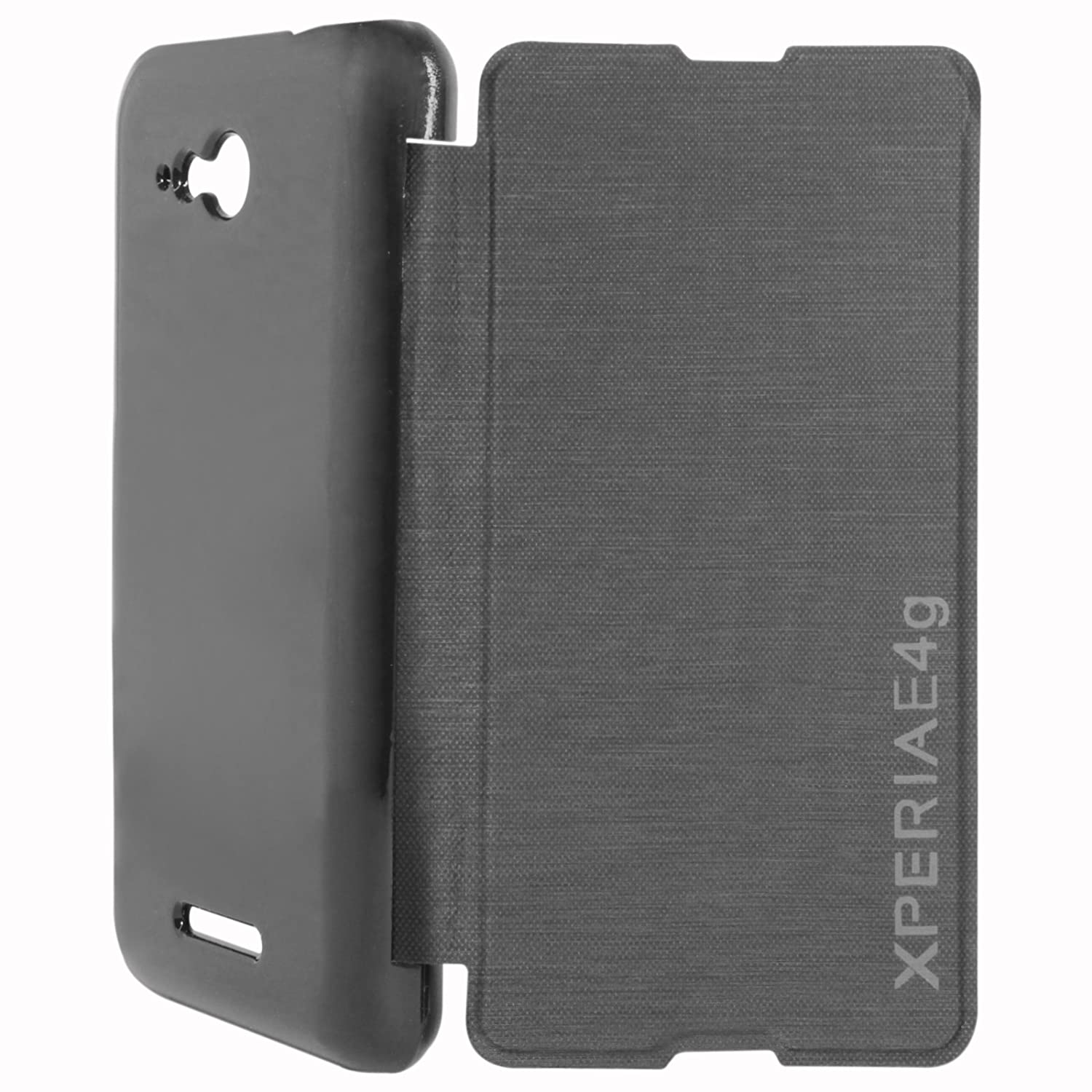 timeless design 0a781 3a166 ASG Flip Cover Case For Sony Xperia E4g: Amazon.in: Electronics