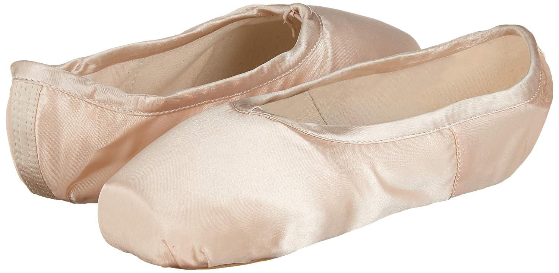 EU36=Longueur int/érieure 22cm Chaussures de Ballet Classique Pointe Satin Ballet Shoe avec Capuchons dorteils Protecteurs en Gel de Silicone et Ruban