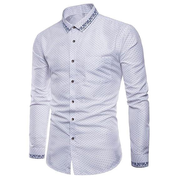 Camisas Casual Hombre Manga Larga, Covermason Trajes Oxford ...
