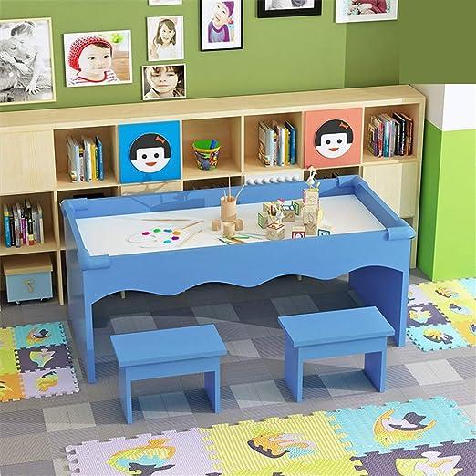 KPOON Mesa de Juego Infantil Mesa de Arena Kid Juego de Mesa Multifuncional de Madera Juego