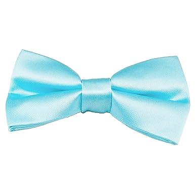 363050013dba Plain Sky Blue Men's Bow Tie: Amazon.co.uk: Clothing