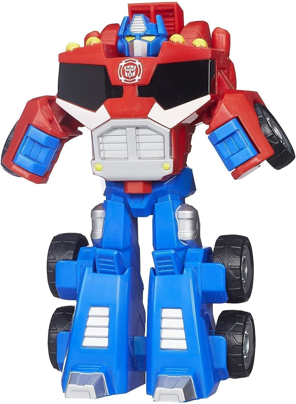 Playskool Heroes Transformers Rescue Bots-Optimus Prime Figura Blu