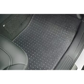 puremats tesla model s floor mats set all weather heavy duty crystal clear. Black Bedroom Furniture Sets. Home Design Ideas