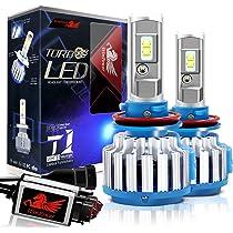 ... Win Power H11 LED Headlight Bulb Conversion Kit H8 H9 CREE 70W 7,200Lm 6000K Cool