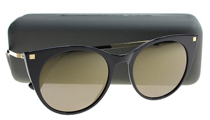 Mykita - Gafas de sol - para mujer negro negro y dorado ...