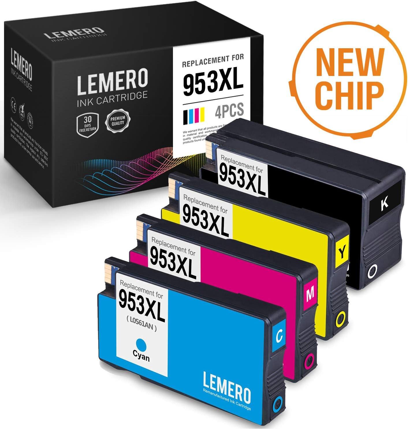 LEMERO Compatible HP 953 XL 953XL Cartuchos de Tinta para HP ...