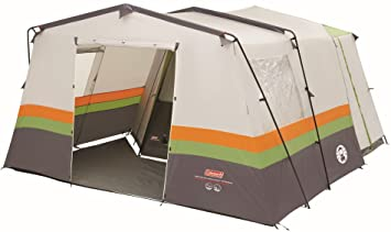 Coleman Waterproof Cortes Unisex Outdoor Octagon Tent available in White/Grey/Green/Orange  sc 1 st  Amazon UK & Coleman Waterproof Cortes Unisex Outdoor Octagon Tent available in ...
