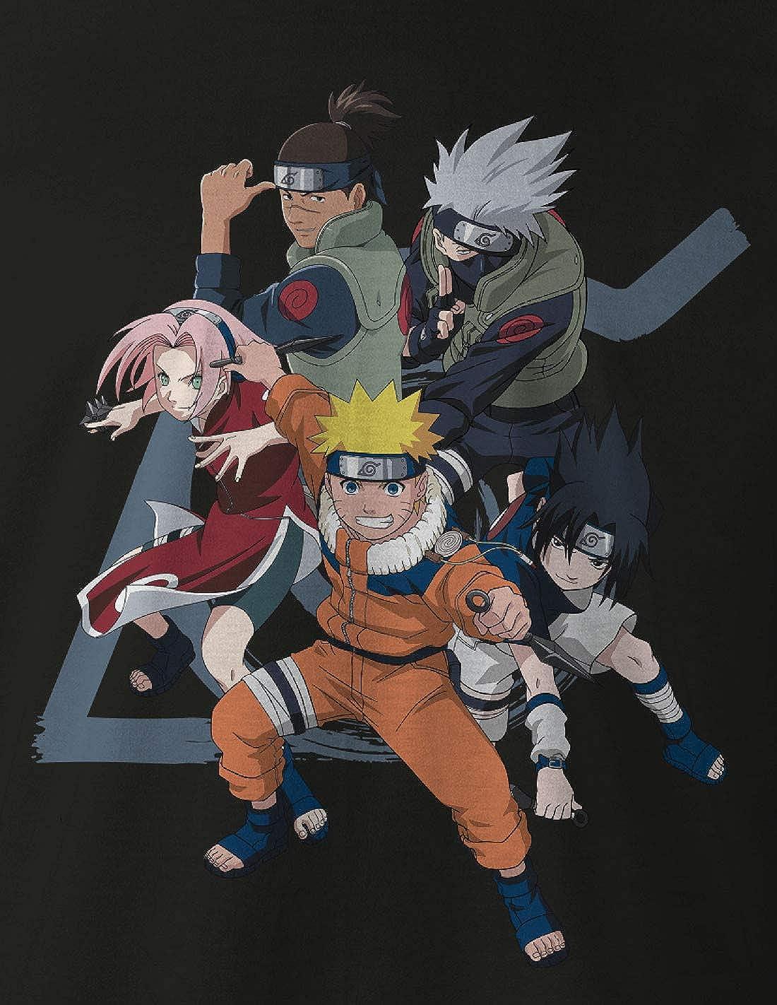 T-Shirt Naruto Team Seven