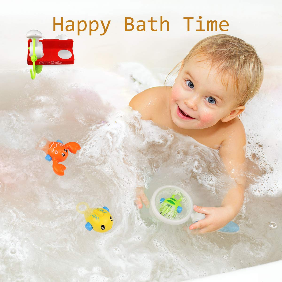 Toddlers and Children Early Educational Toys with ABC Letters and Facial Expression Enjoy Water and Beach Playing time 5-Pack HAOXIN Bath Toys Nesting /& Stacking Cups for Kids