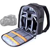 DURAGADGET Deluxe Camera Backpack / Rucksack with Adjustable Interior for Sony SLT-A58K - Alpha A58 Translucent Mirror Interchangeable Lens Camera