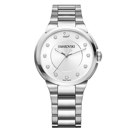 8726b383f7c467 Swarovski Orologio City da Donna con Cinturino in acciaio finitura argento  - 5181632