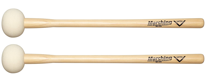 Vater MV-B4 Marching Bass Drum Mallets Pair