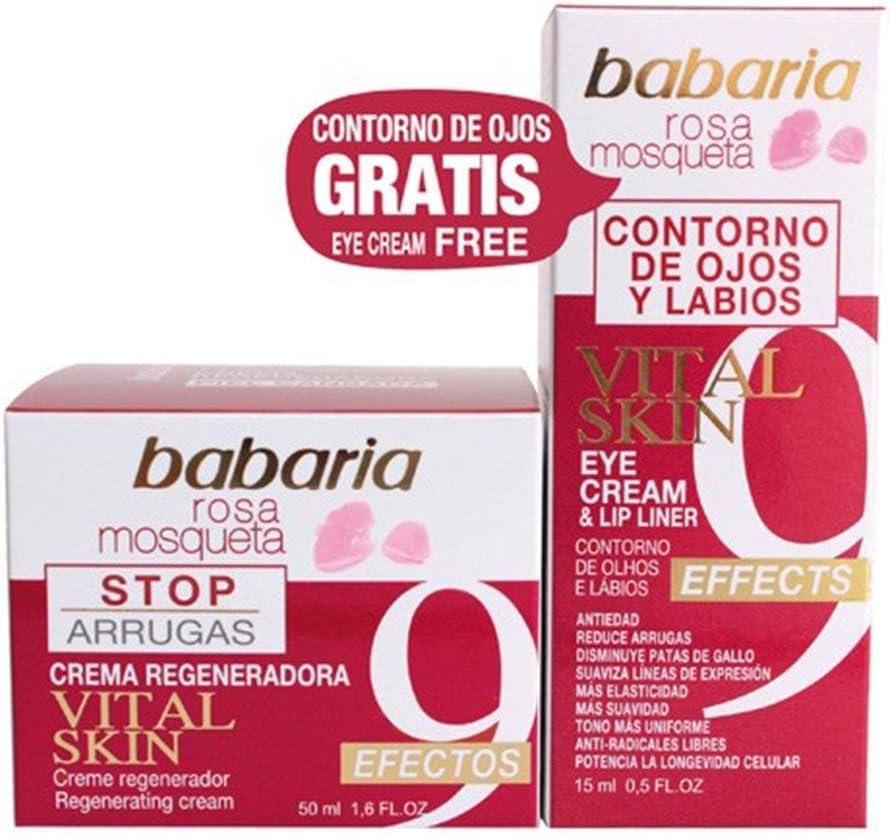 Babaria Serum Piel Vital Rosa Mosqueta + Contorno de Ojos - 1 Pack ...