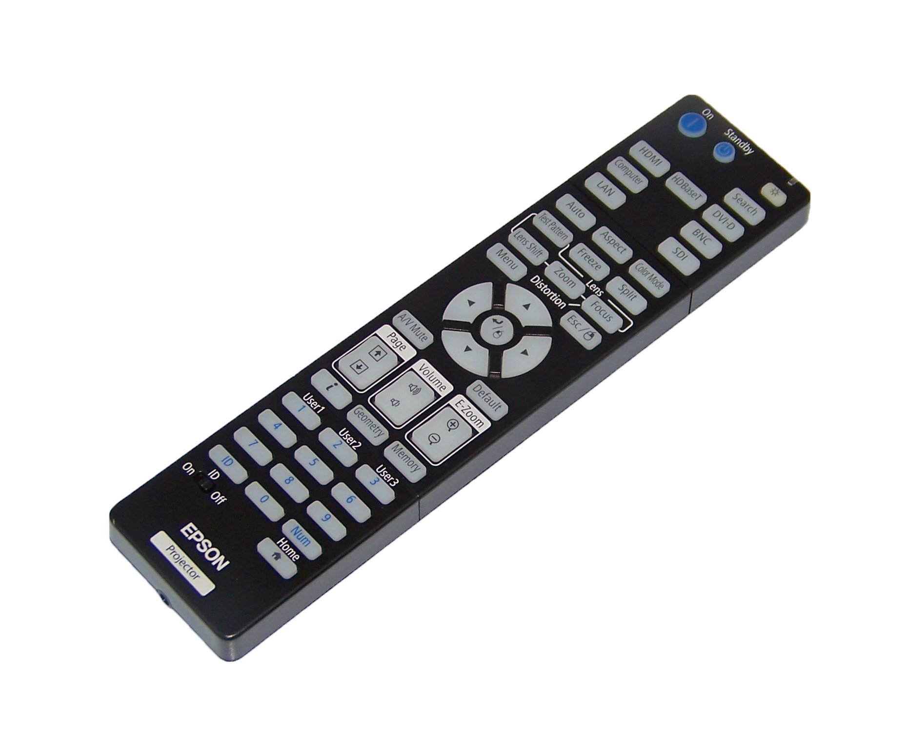 OEM Epson Projector Remote Control For Epson Pro G7805, G7400U, G7100, G7200W by Epson