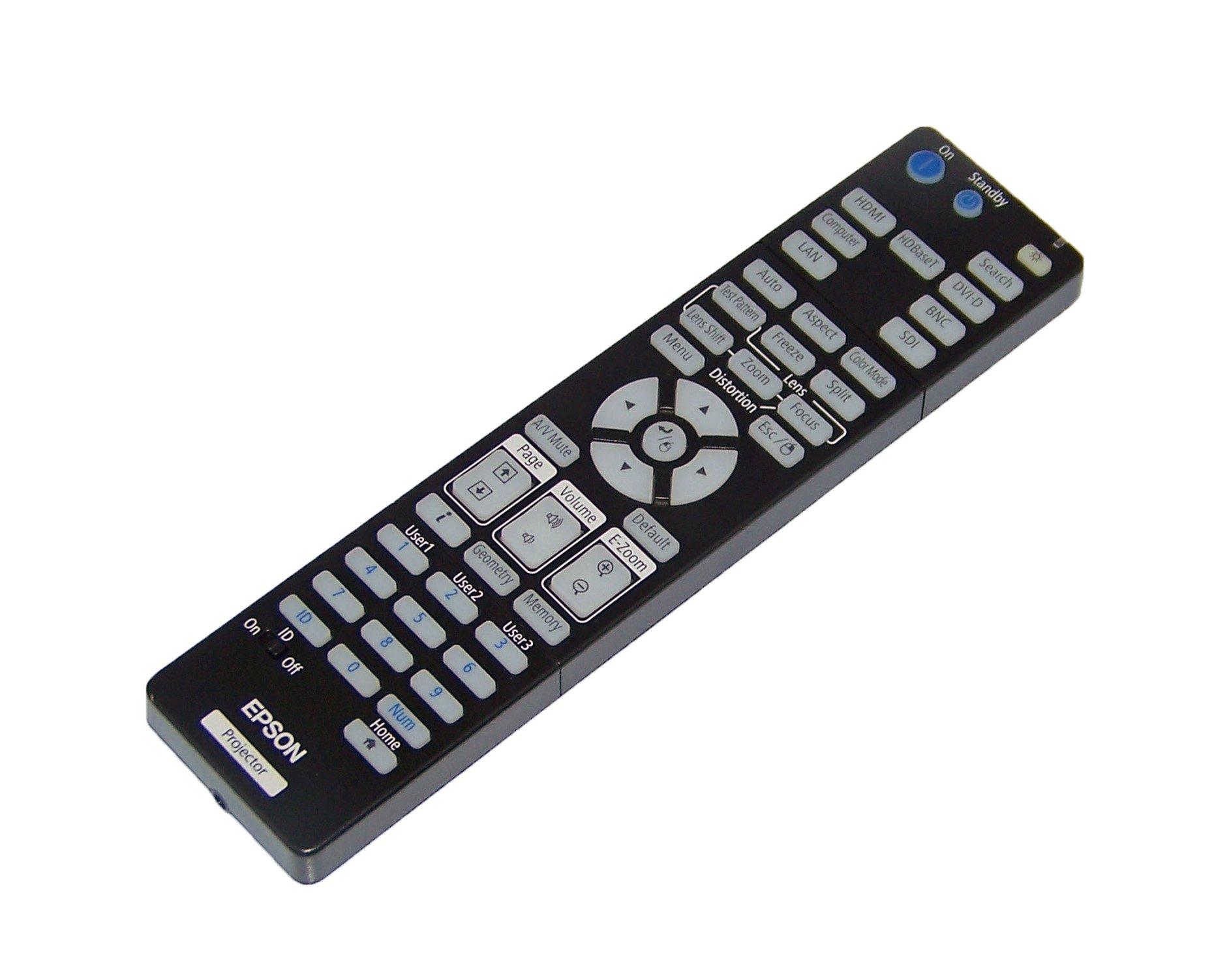 OEM Epson Projector Remote Control For Epson Pro G7905U, G7000W, G7400U, G7500U by Epson