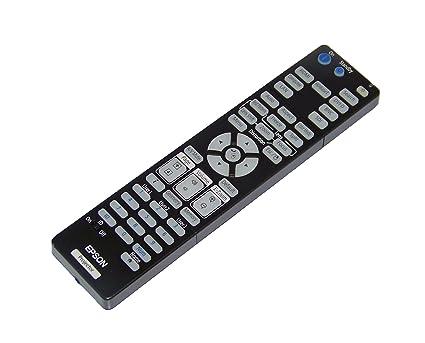 Amazon.com: OEM Epson proyector mando a distancia para Epson ...
