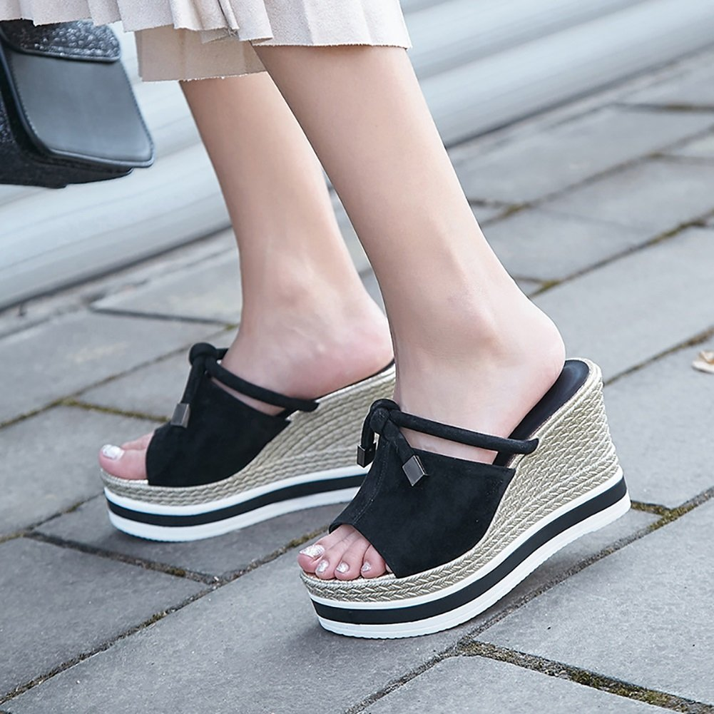 XUE Damen Damen XUE Schuhe PU Sommer Komfort Sandalen/Hausschuhe & Flip-Flops Atmungsaktive Wanderschuhe Hollow-Out Fashion Office & Karriere Kleid Party & Abend & Karriere Dress Plateauschuhe B 77e656