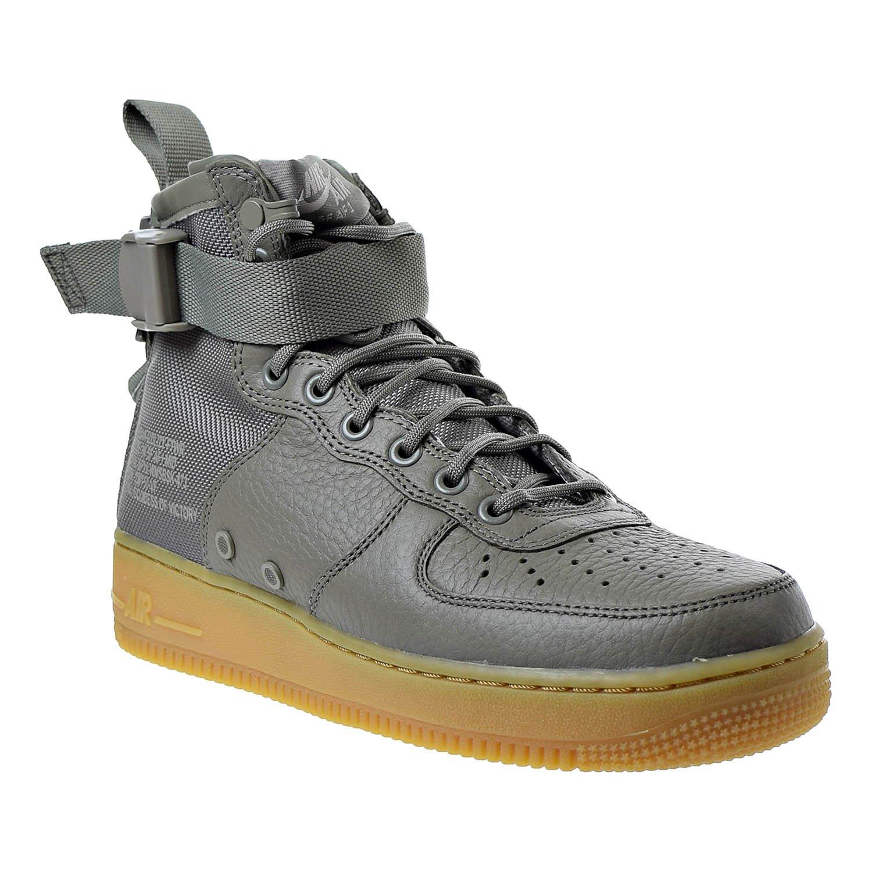 NIKE W AA3966-004_9.5 SF AF1 Mid Damenschuhe Fashion-Sneakers AA3966-004_9.5 W - Dark Stucco/Dark Stucco-Gum Light Braun - b2c0a2