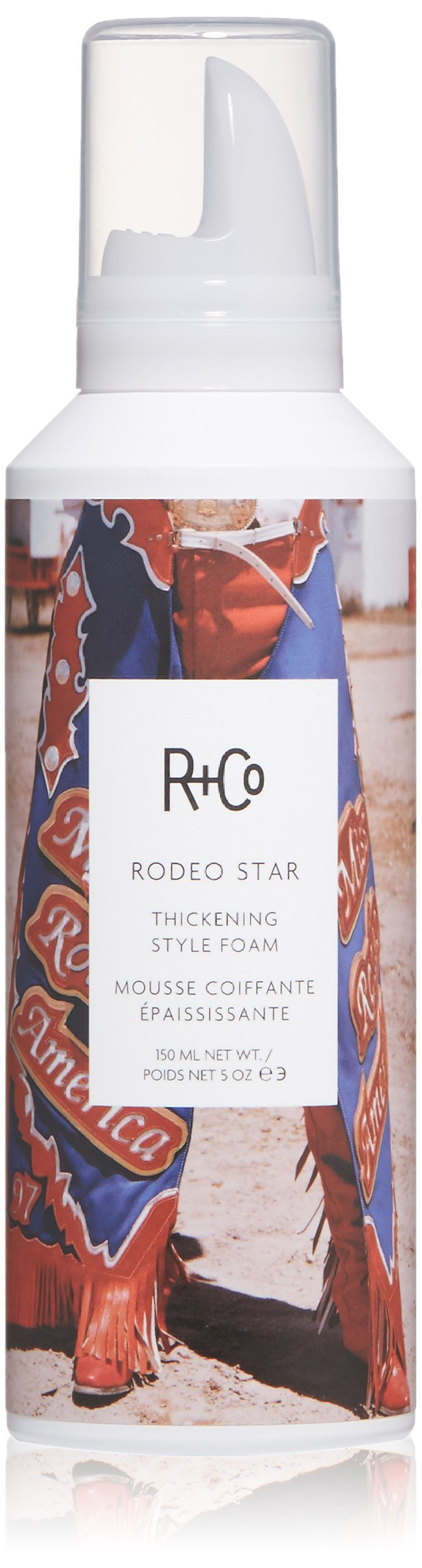 R+Co Rodeo Star Thickening Style Foam, 5 oz.