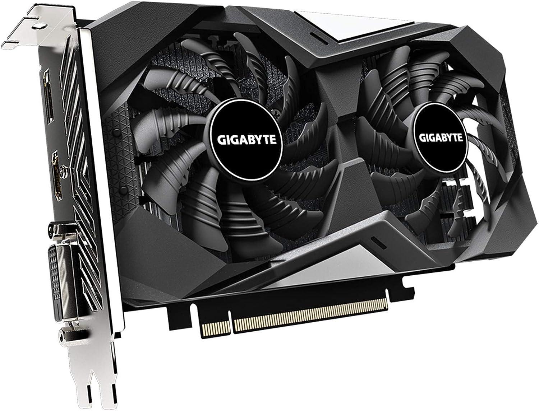 GV-N1656WF2OC-4GD REV2.0 Video Card 4GB 128-Bit GDDR6 172mm Compact Size rev. 2.0 GIGABYTE GeForce GTX 1650 D6 WINDFORCE OC 4G Graphics Card