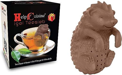 Teekugel in Igelform