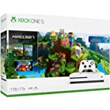 Xbox One S 1TB Console ? Minecraft Bundle (Discontinued), White